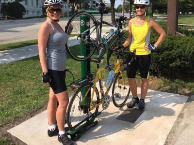 Plenty of Horne: Juneau Park Gains a Bike Oasis