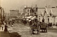 German Market, Early 1880s. Image courtesy of Jeff Beutner.