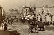 German Market, Early 1880s. Image courtesy of Jeff Beutner.