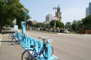 E. Kilbourn Ave. at Cathedral Square Park.