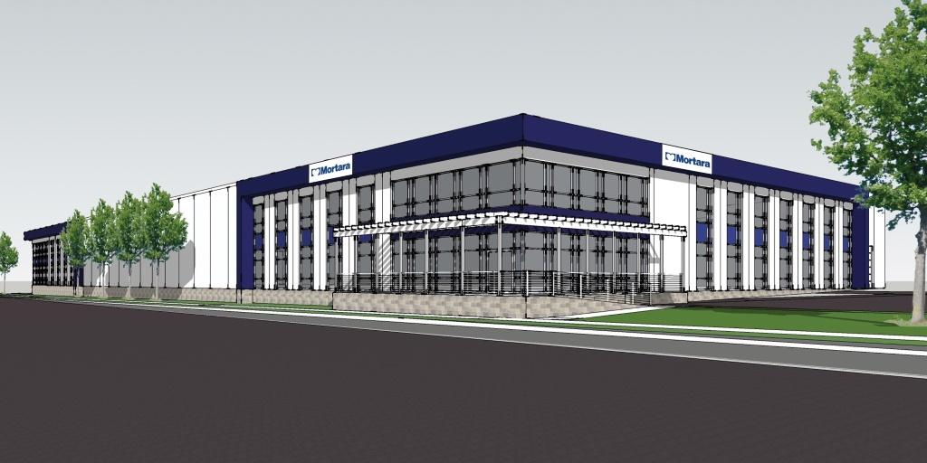 New Mortara Building