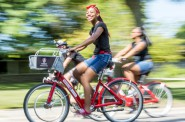 Ride the Drive in Madison features B-cycles, and Ciclovia MKE will have Bublr bikes people can try.