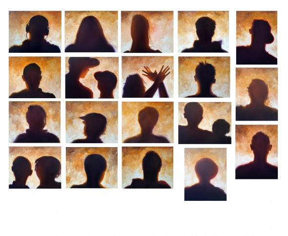 ToddMrozinski: Shadow Paintings 2014