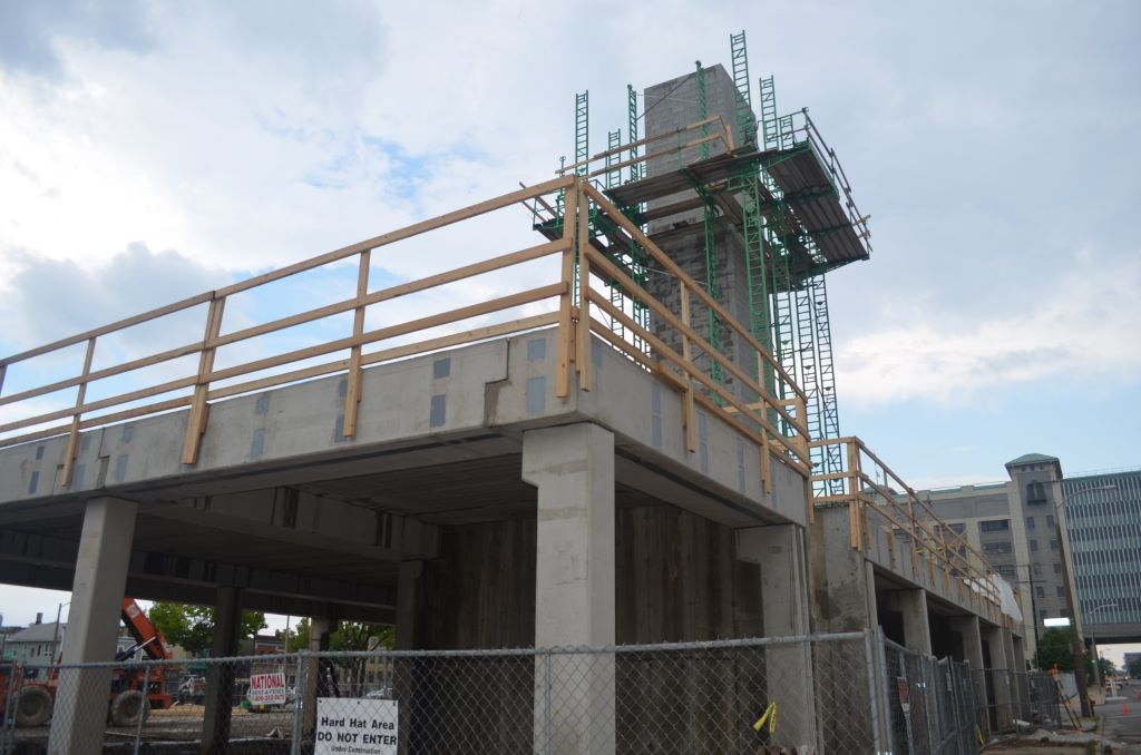 1029 S. 1st St. is under construction. Photo by Jack Fennimore.