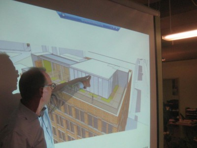 Plenty of Horne: New Penthouse for Old Third Ward Building