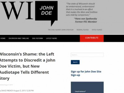 Data Wonk: The John Doe Fiction Continues