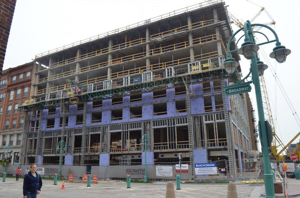 Kimpton Hotel Construction. Photo by Jack Fennimore.
