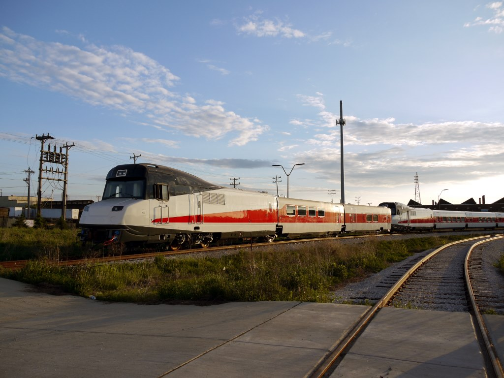 Talgo Trainsets. Photo by Garrick Jannene.