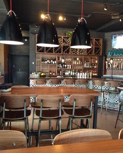 Inside La Masa Empanada Bar. Photo by Cari Taylor-Carlson.
