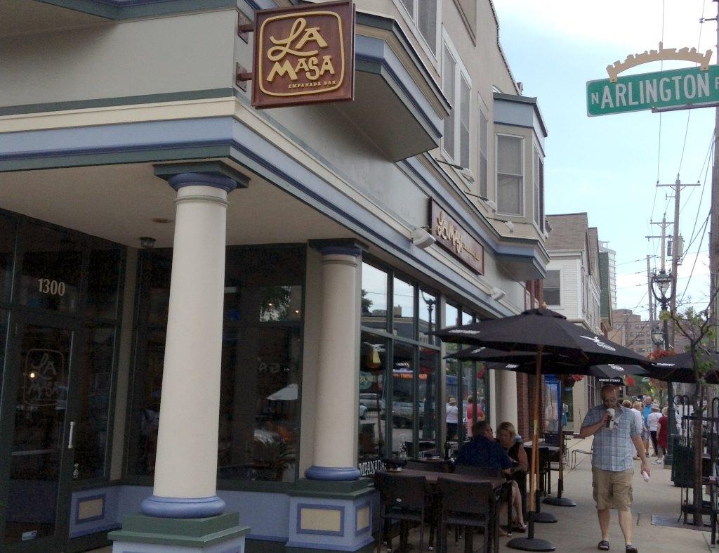 La Masa Empanada Bar. Photo by Cari Taylor-Carlson.