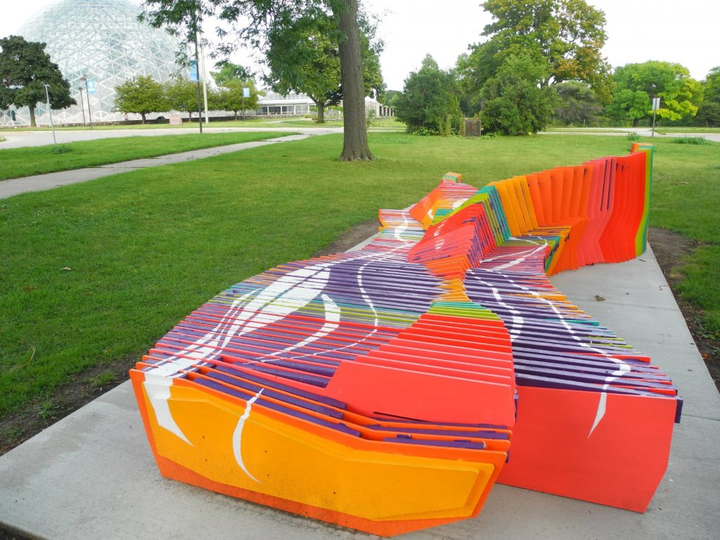 Drift Bench. Photo by Laura Thompson.