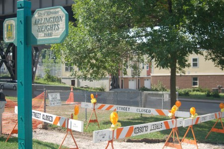 The ribbon cutting for Arlington Heights Park, 3629 W. Pierce St., will be held on Sept. 24. Photo by Edgar Mendez.