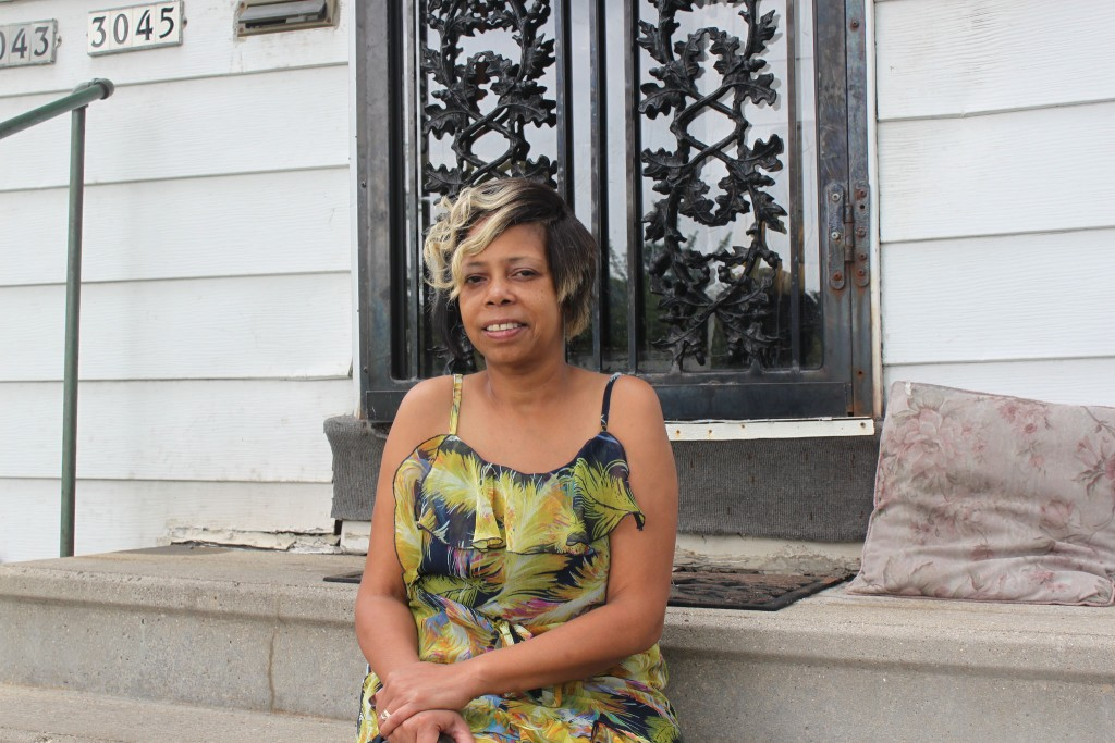 """After reaching out to qualified home foreclosure mediation counselors, LaDawn Meledy was able to keep her Borchert Field residence. """"I wanted to fight for my home,"""" she said. Photo by Matthew Wisla."""