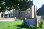 Casimir Pulaski High School has had problems with attendance, achievement and graduation rates. Photo by Jabril Faraj.
