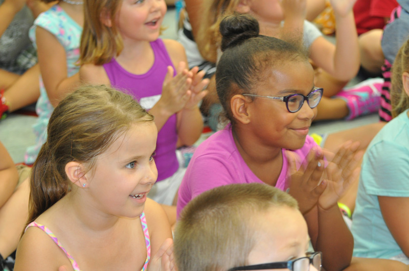 AAL students at September's Teacher of the Year announcement. Photo courtesy of MPS.