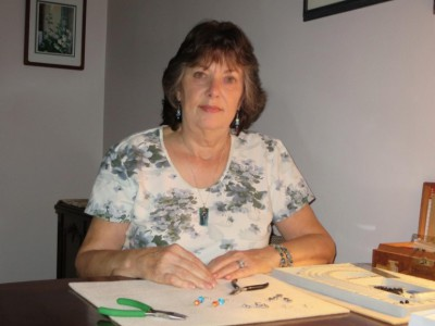Jewelry artist Kate House featured as October Artist in Residence at the CCC