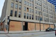 Commerce Building Construction. Photo by John Fennimore.