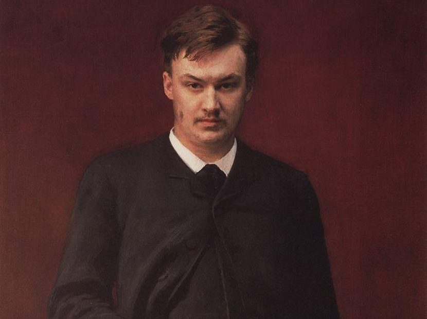 Glazunov by Illya Repin, 1887