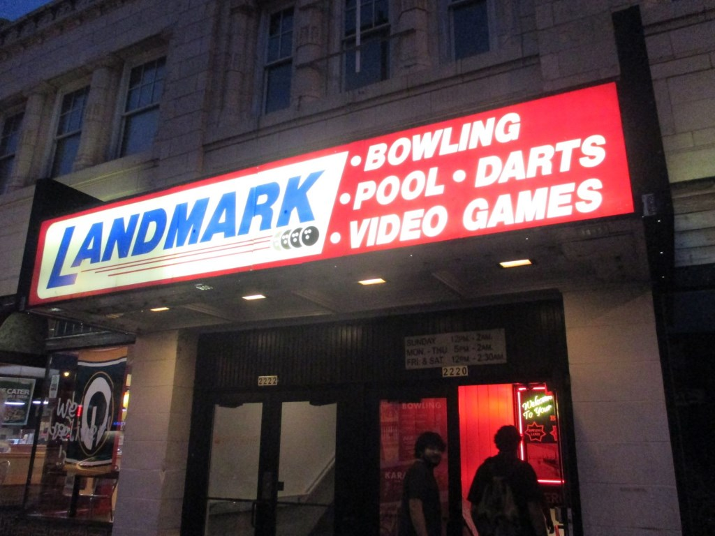 Landmark Lanes. Photo by Jeramey Jannene.