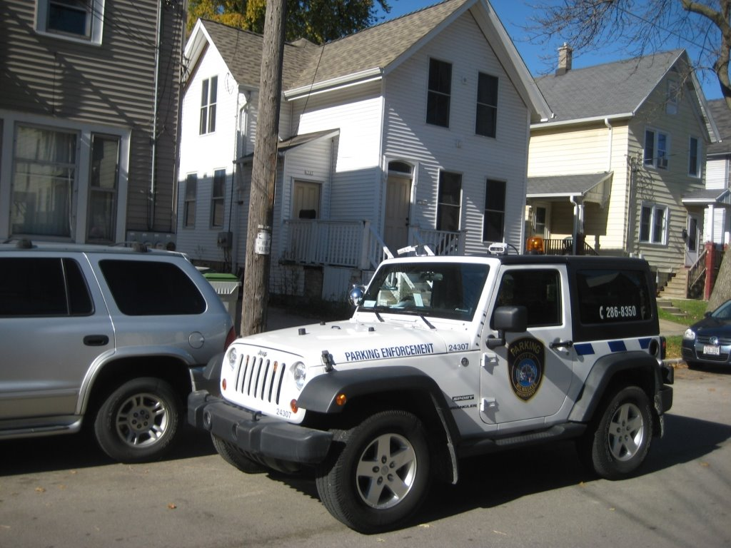 Parking enforcement. Photo by <strong srcset=