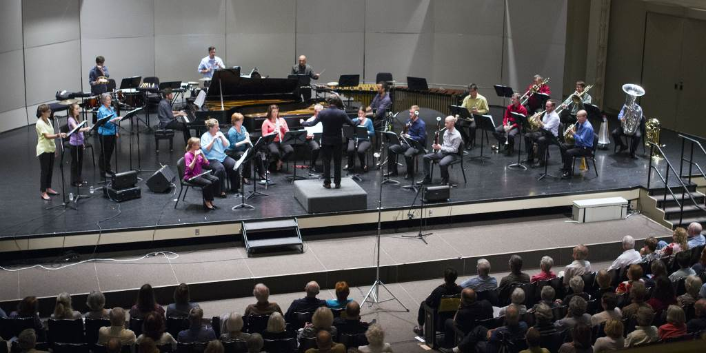 Present Music opened Milwaukee's 2015-2016 classical music season. Photo by Angela Morgan.