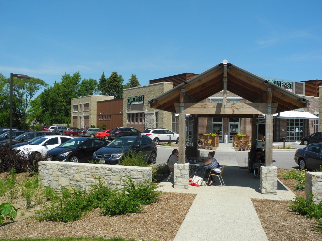 The Outpost Natural Foods in Mequon is the furthermost northern stop on the ride. Photoby Laura Thompson.