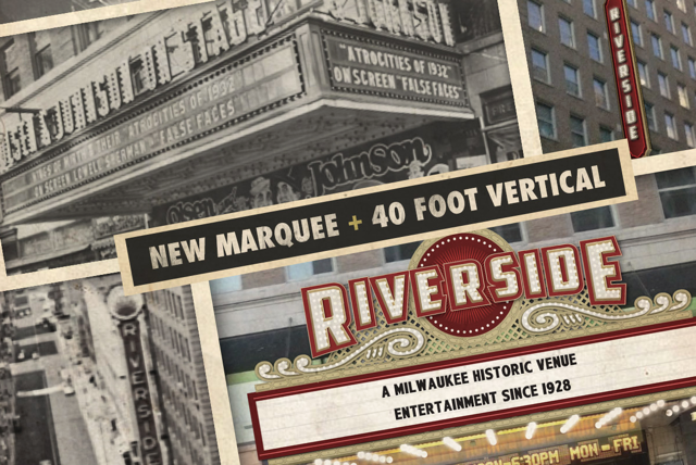 New and Old Riverside Marquee