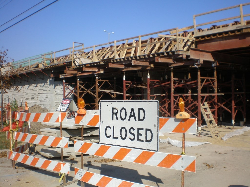 N. 76th St. construction continues, ramp closures scheduled