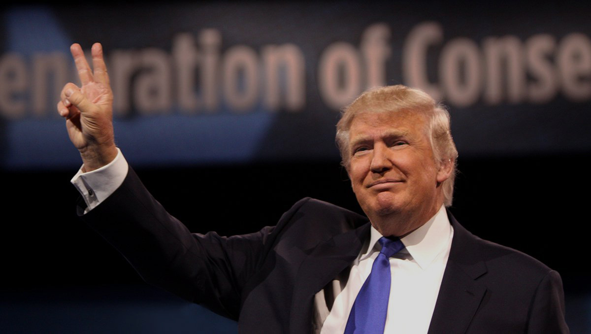 Donald Trump. Image from campaign website.