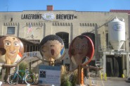 Lakefront Brewery. Photo by Michael Horne.