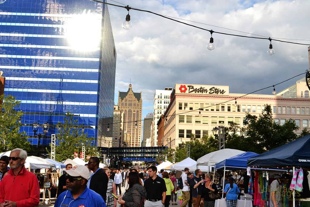 NEWaukee Night Market. Photo taken July 16th, 2014 by Brian Jacobson.