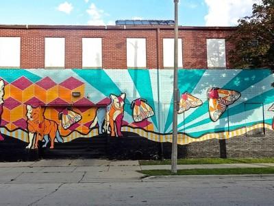 New Mural for Washington Park Neighborhood