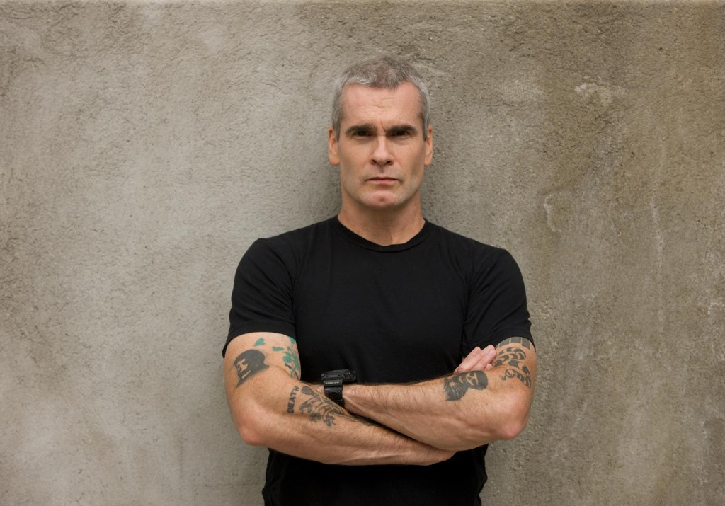 Henry Rollins. Photo by Heidi May.