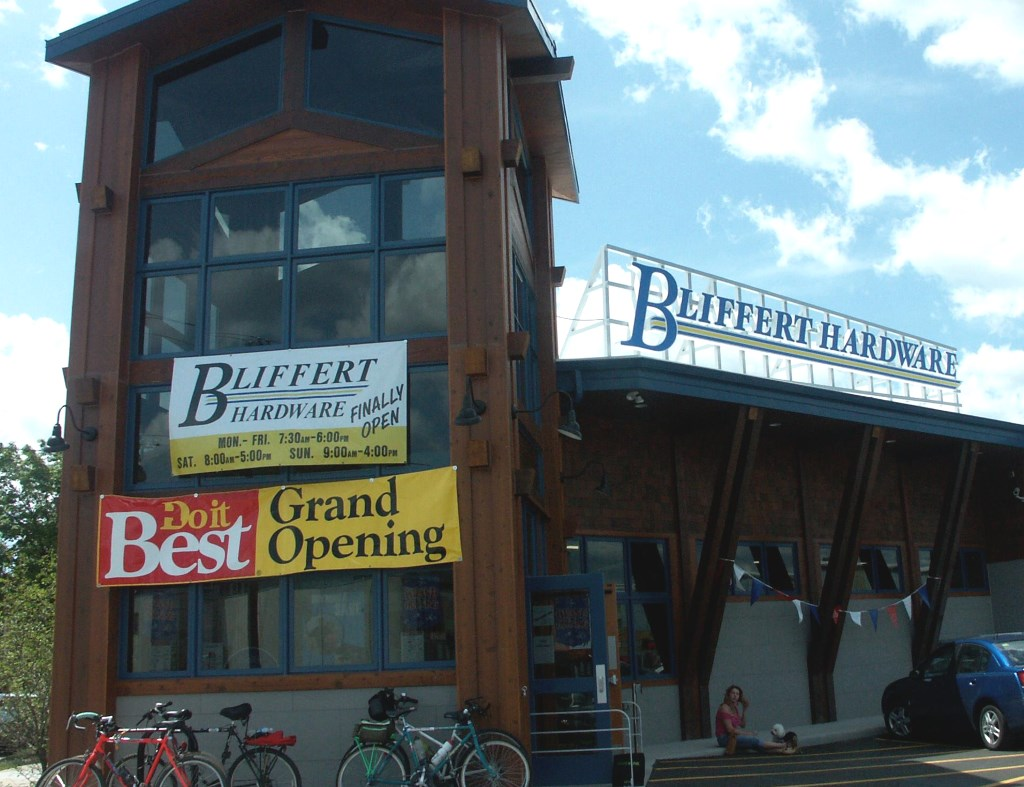 Bliffert Lumber and Hardware. Photo from Facebook.