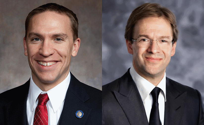 Chris Larson and Chris Abele.