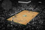 Fear the Deer Court. Image courtesy of the Milwaukee Bucks.