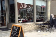 Zak's Cafe. Photo by Cari Taylor-Carlson.
