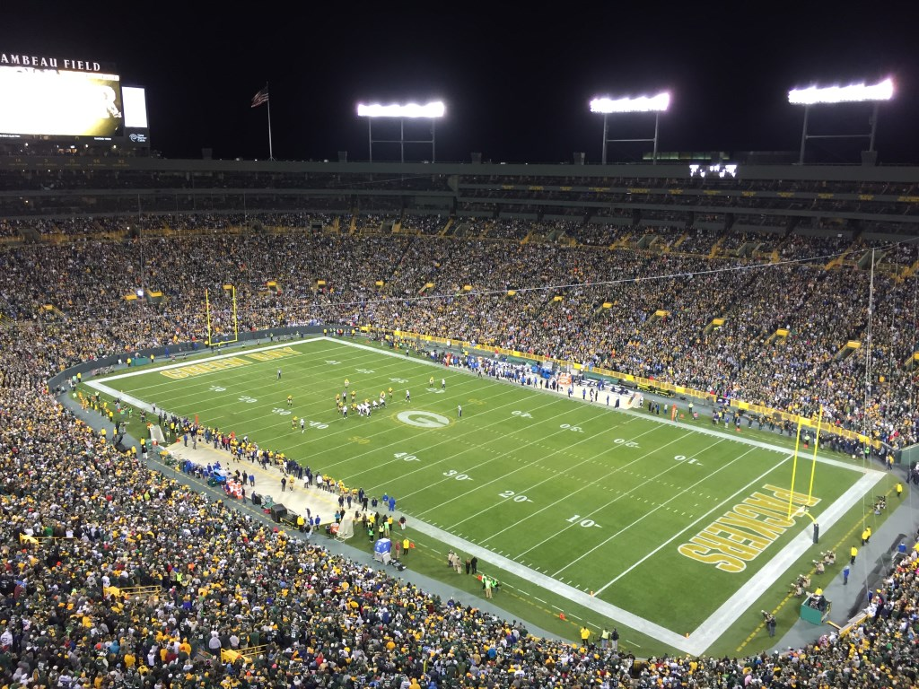 Lambeau Field. Photo by Jeramey Jannene.