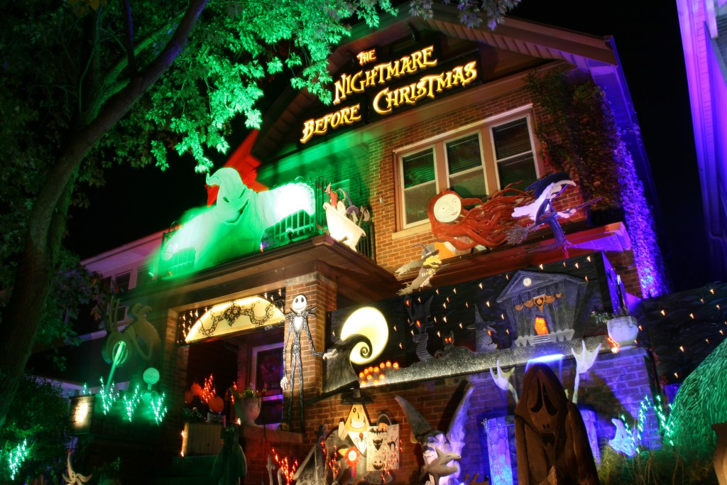 Nightmare Before Christmas Houses.House Confidential Bay View S Haunted House Urban Milwaukee