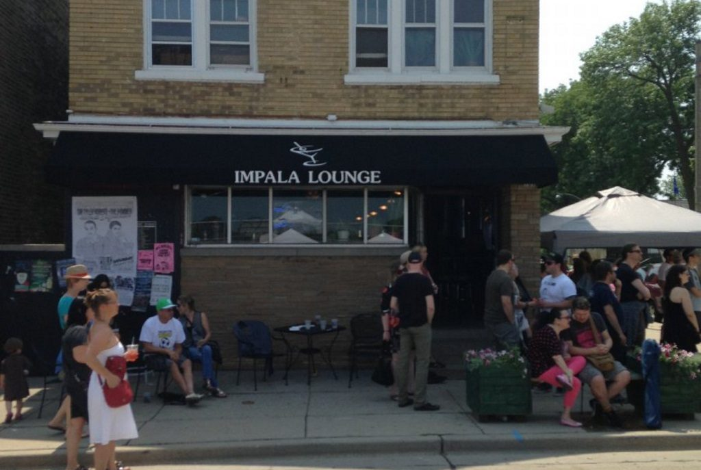 Impala Lounge. Photo taken August 2nd, 2014 by Dave Reid.