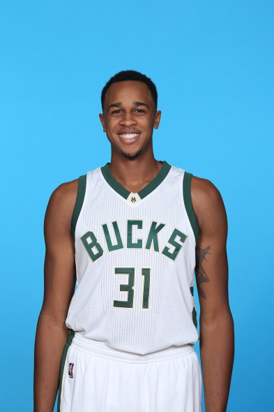 John Henson. Photo by Tom Lynn/NBAE via Getty Images courtesy of the Milwaukee Bucks.