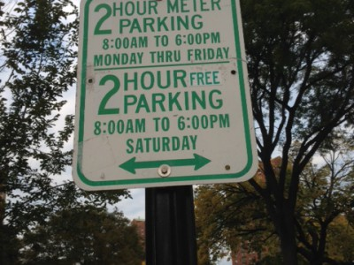 "DNA Milwaukee Spearheads ""FREE"" Parking Stickers for Weekend Downtown Parking Signage"