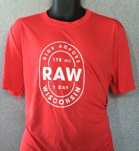 People have been asking if they can purchase the RAW t-shirts the volunteers were wearing, so we are taking orders until November 1st, when we will have them printed and ship them.