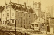 Last Days of Melms Brewery, 1869. Image courtesy of Jeff Beutner.