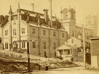 Yesterday's Milwaukee: Last Days of Melms Brewery, 1869