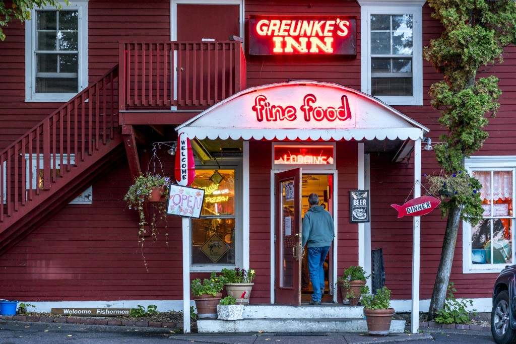 John walking in to Gruenke's. Photo shot with Sony A7rII.