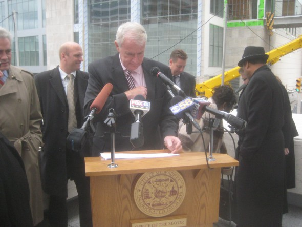 Mayor Tom Barrett. Photo by Michael Horne.