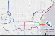 Milwaukee Running Festival Marathon Map