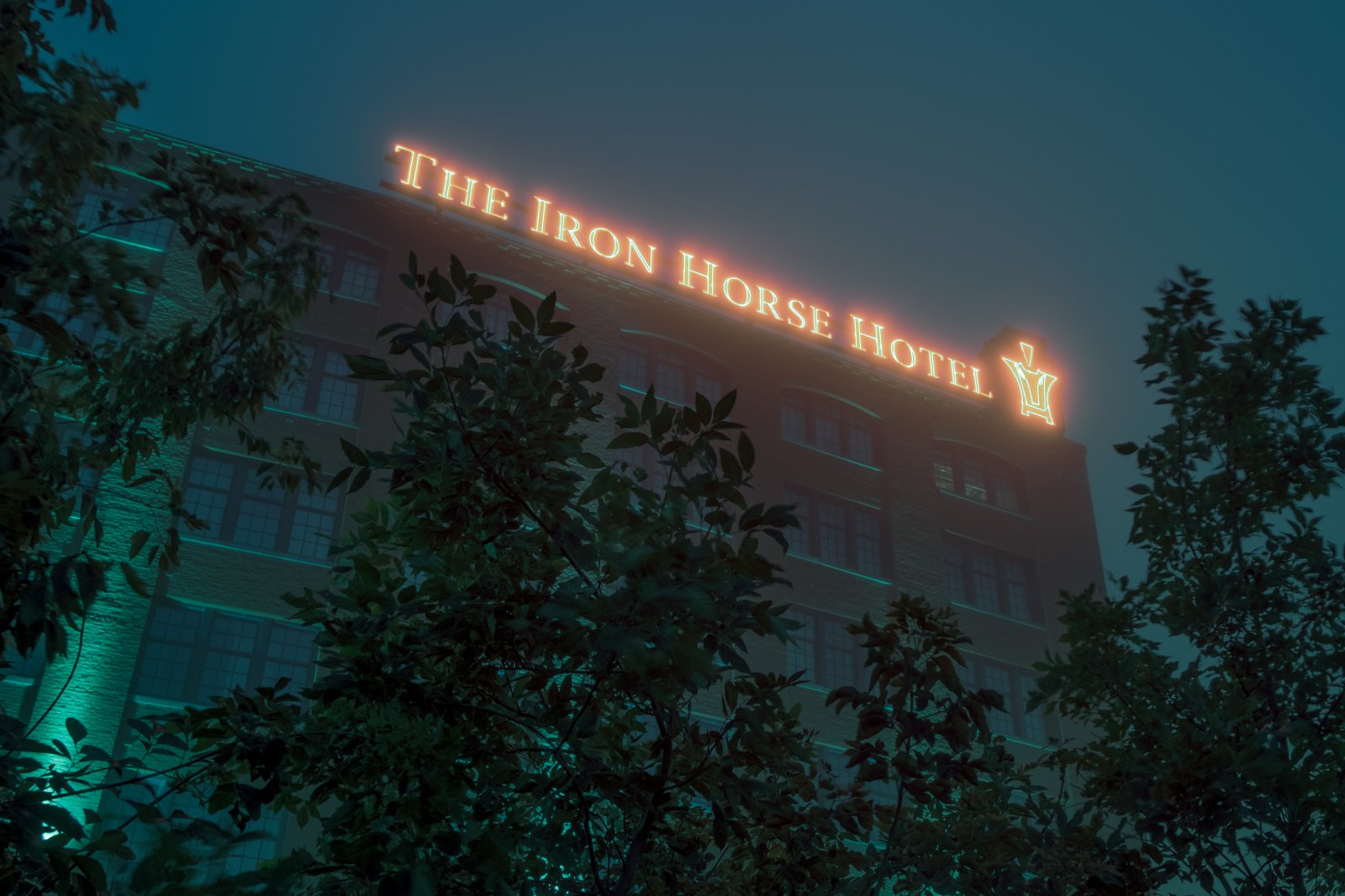 The Iron Horse Hotel. Photo by Sean Sweeney Photography.