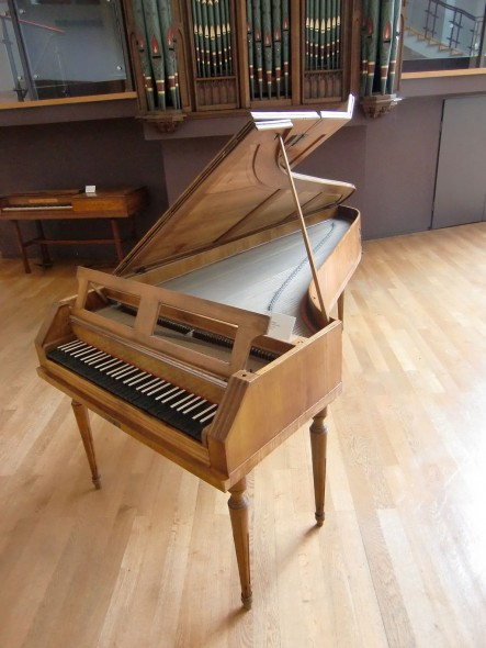 Fortepiano by Johann Andreas Stein (Augsburg, 1775)